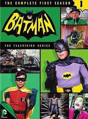 Batman: The Complete First 1st Season One 1  (DVD, 2015, 5-Disc Set)  Brand NEW