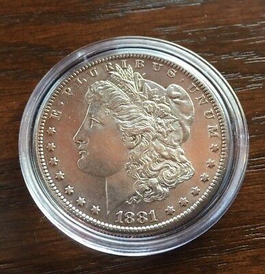 1881-S Morgan Silver Dollar  Great Bu/au Silver Dollar.. Proof-Like Gem!!