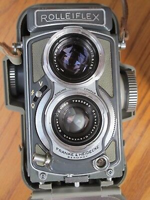 Rolleiflex 4x4 - Grey with original hard case, box, and user manual