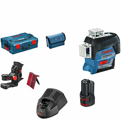Bosch GLL 3-80 C 12v Cordless Connected Line Laser Level 1 x 2ah Li-ion