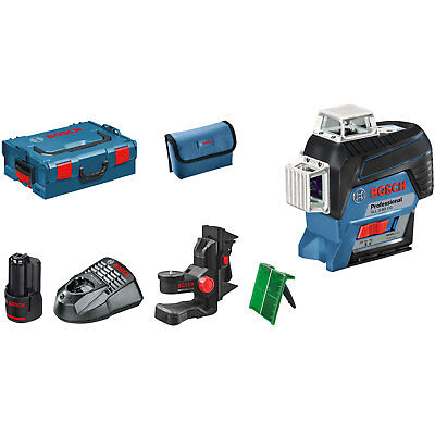 Bosch GLL 3-80 CG 12v Cordless Connected Green Line Laser Level 1 x 2ah Li-ion