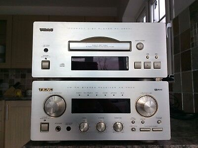 TEAC CD/Tuner/Amplifier AG-H500 Midi Hi Fi separates and control, quality sound.