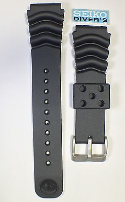Seiko Z22 Curved Vent Rubber Strap-22mm Lug Diver's Watch BRAND NEW UK SELLER