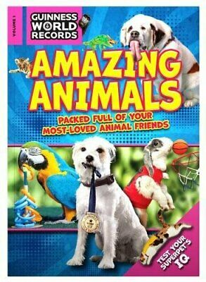 Guinness World Records Amazing Animals 2018 by Guinness World Records Book The
