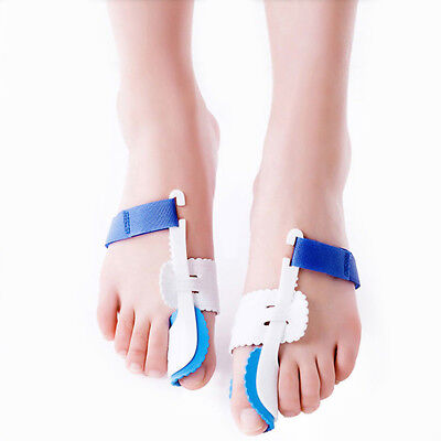 1 Pair Big Toe Bunion Hallux Valgus Corrector Night Splint Pain Relief Protector