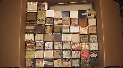 Lot of 55 Vintage Player Piano Music Rolls  #27617