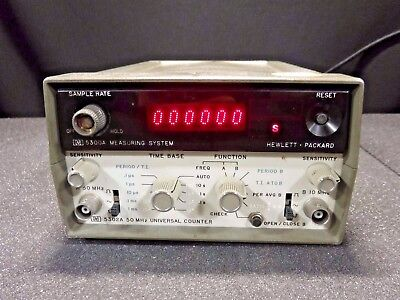 HP 5302A 50 MHz Universal Counter