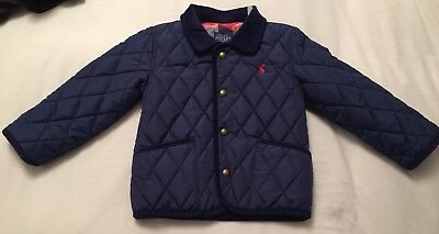 Quilted JOULES Coat 2-3yrs