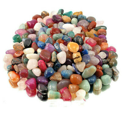 100 gms Best Bright Mix Healing Crystals Tumble Stones Chakra Gemstones Mineral