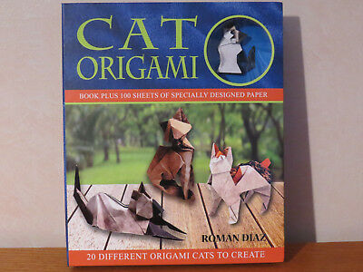 Cat Origami Kit - 20 Different Cats to Create as Origami Figures!