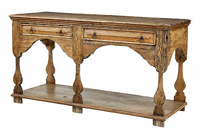 18Th Century And Later English Pine Dresser Base