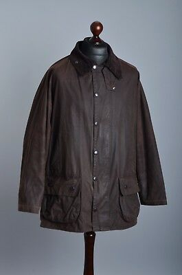 Men's Barbour A231 Classic Beaufort Jacket Size C46 / 117cm Genuine Casual Waxed