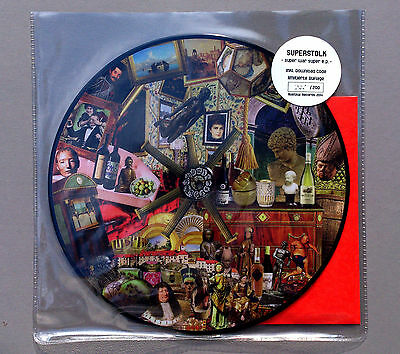 "SUPERSTOLK ""Super War Super"" 12"" limitierte Picturedisc only 200!"