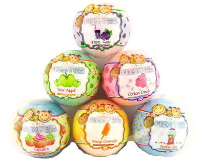 BELA KIDS EFFERVESCENT FIZZY MADE IN THE U.S.A. BATH BOMBS -  4.5 Oz.
