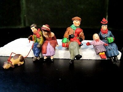 Dept 56 Dickens Village Heritage Christmas in the park (set of 3) 58661 RETIRED