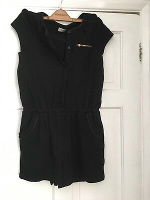 Girls next black 14 Short Playsuit