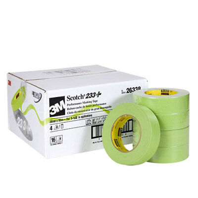 3M 26338 Scotch Masking Tape 233+ 36mm Rolls Case of 16