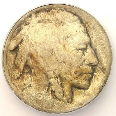 1913-S Type 2 Buffalo Nickel 5C - Certified ICG VF30 Details - Rare Type Two!
