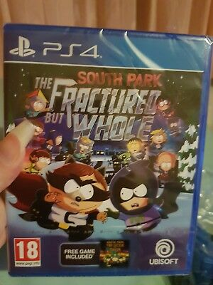 South Park The Fractured But Whole New Sealed Ps4 Uk Seller