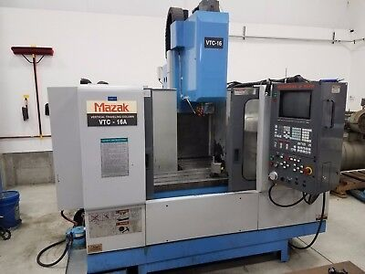 Mazak VTC-16A Vertical Machining Center, Mazatrol M+ Controller