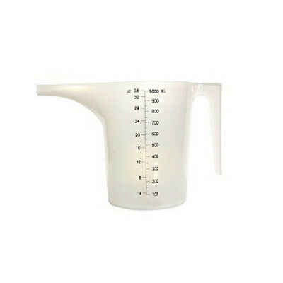 Candle Making 1L WAX POURING JUG - Plastic 1000ml Long Spout Candle Supplies