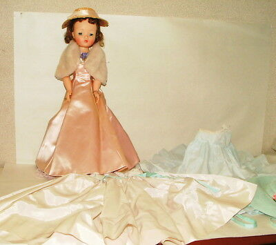 % 1950's Madame Alexander Cissy 20 Inch Doll With Original Outfits