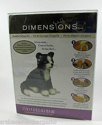 Collectible Dimensions Needle Felting Kit Kitty Cat - Complete NIB