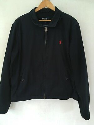Polo Ralph Lauren Harrington Jacket Navy Size XL Men's