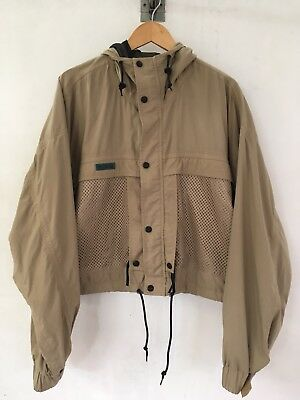 Men's Columbia Beige Size large Hiking Camping Fishing Jacket