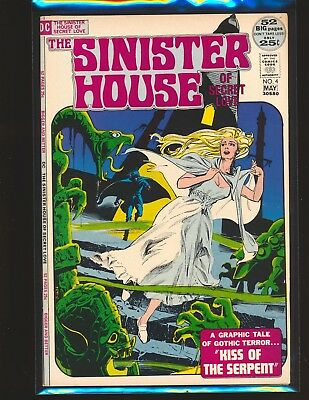 Sinister House of Secret Love # 4 VF Cond.