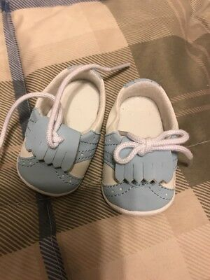 For American Girl Doll Shoes 1699 01 Blue/white