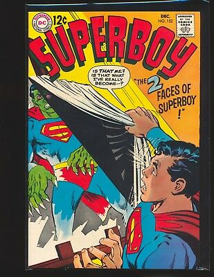 Superboy # 152 - Neal Adams cover Fine/VF Cond.