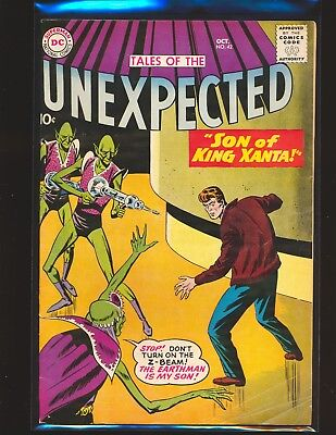 Tales of the Unexpected # 42 VG Cond.