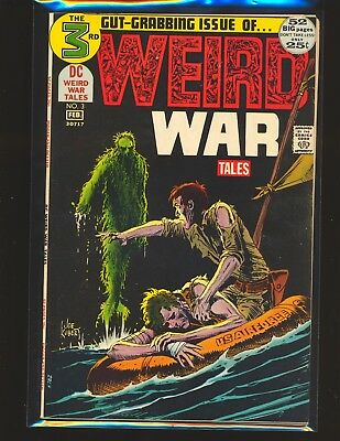 Weird War Tales # 3 - Drucker & Heath art VG Cond. water damage