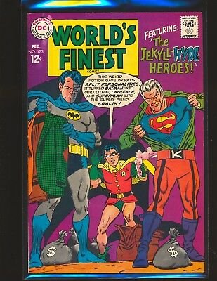 World's Finest Comics # 173 VG/Fine Cond two extra staples added during printing