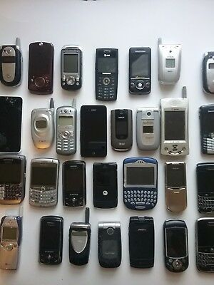 old used cell phone lot 29