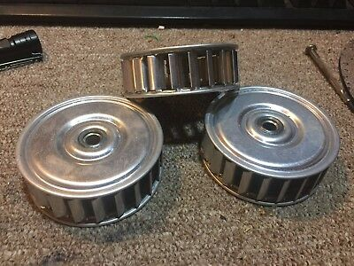 Centrifugal Squirrel-Cage Blower Fan  Thermal-Protect Lot of 3