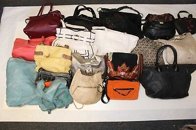 Wholesale Purse Lot USED Bulk Rehab Resale Michael Kors Cole Haan Lucky aGwC