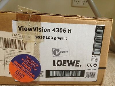 New, In Box, Loewe ViewVision 4306H Hifi Stereo VCR Video