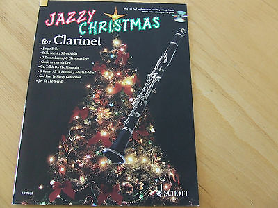 Jazzy Christmas for Clarinet mit Play Along CD Ed. Schott 9638