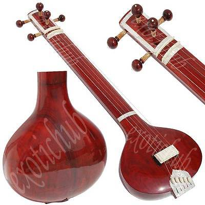 Tanpura / Tambora / Tambura With 5 String~Pro Quality~Yoga~Bhajan~Shruti~Kirtan~