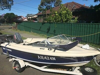 haines hunter boat and trailer 70hp yamaha in fantastic condition all registered