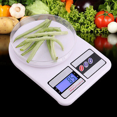 Digital Electronic Kitchen Food Diet Postal Scale Weight Balance 5kg/1g 7kg/1g