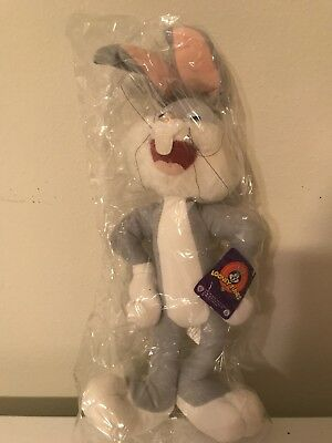 """looney toons bugs bunny 15"""" plush doll"""