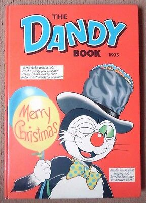 The Dandy Book 1975 Not Price Clipped No Loose Pages