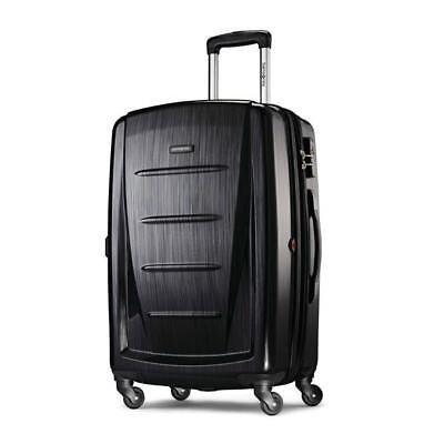 "Samsonite Winfield 2 Fashion Hardside Spinner 24"" Brushed Anthracite 56845-2849"