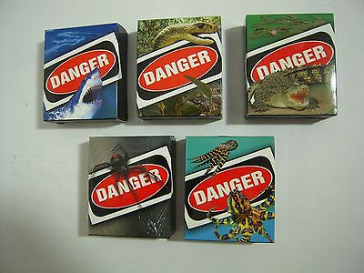Tuvalu 2011  Deadly and Dangerous - Complete Set- Includes B/R Spider