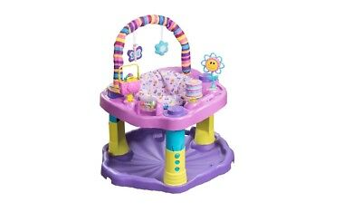Evenflo-Exersaucer's New Bounce & Learn For Kid Sweet Tea Party Full Box