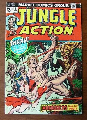 Jungle Action #4 (Marvel 1973) FN-, Gil Kane, Don Rico, Syd Shores, Werner Roth