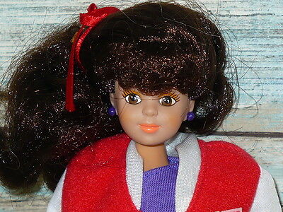 """Remco Babysitters Club Kristy Doll 1992 105"""" tall Complete Outfit Christy"""